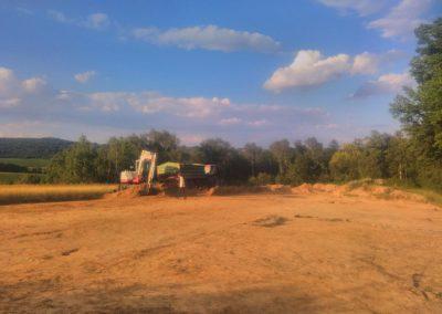 Prace ziemne w Tarnowie