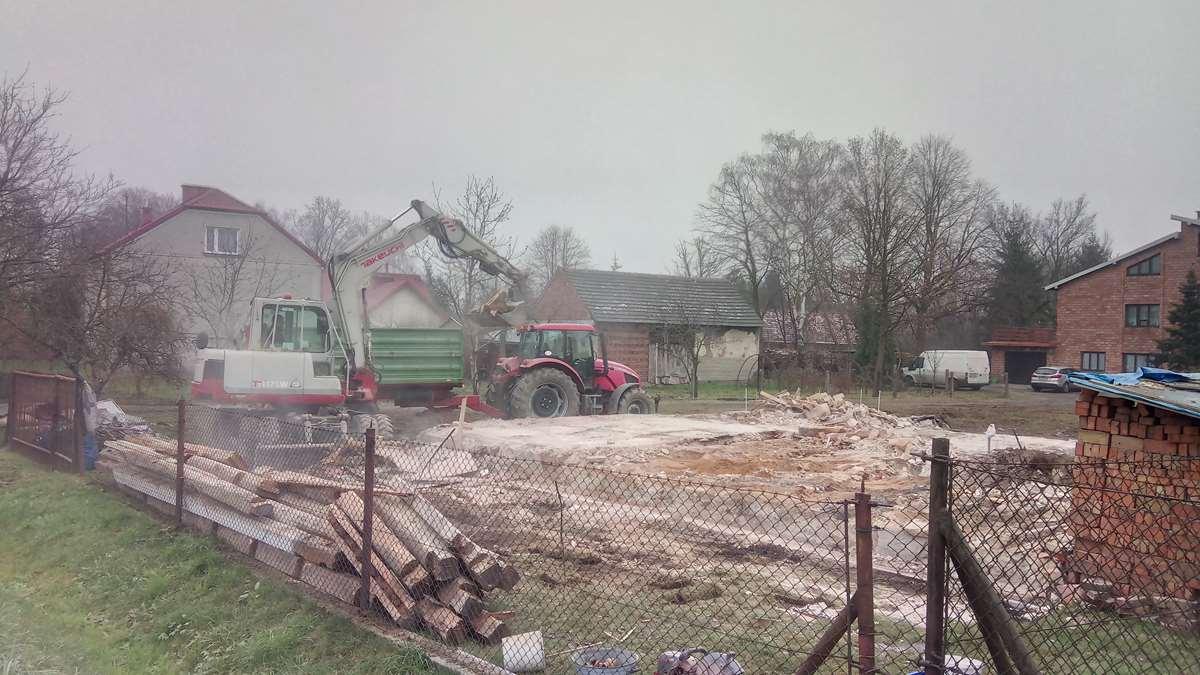 wyburzenia budynku tarnów
